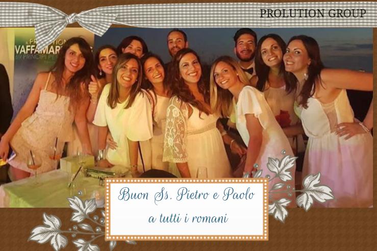 IMMAGINE I nostri Prolutioner, vi augurano una buona festa di San Pietro e San Paolo e un buon weekend a tutti quanti!!!