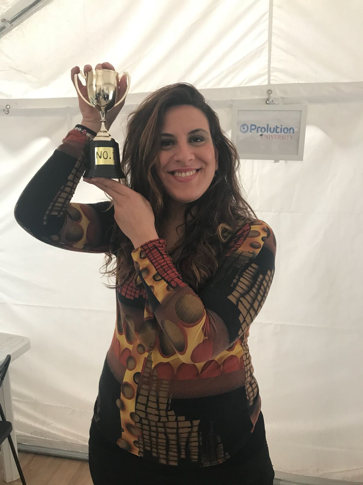 IMMAGINE Ogni settimana in Prolution viene nominato un Best Of The Week e questa settimana è lei la vincitrice.