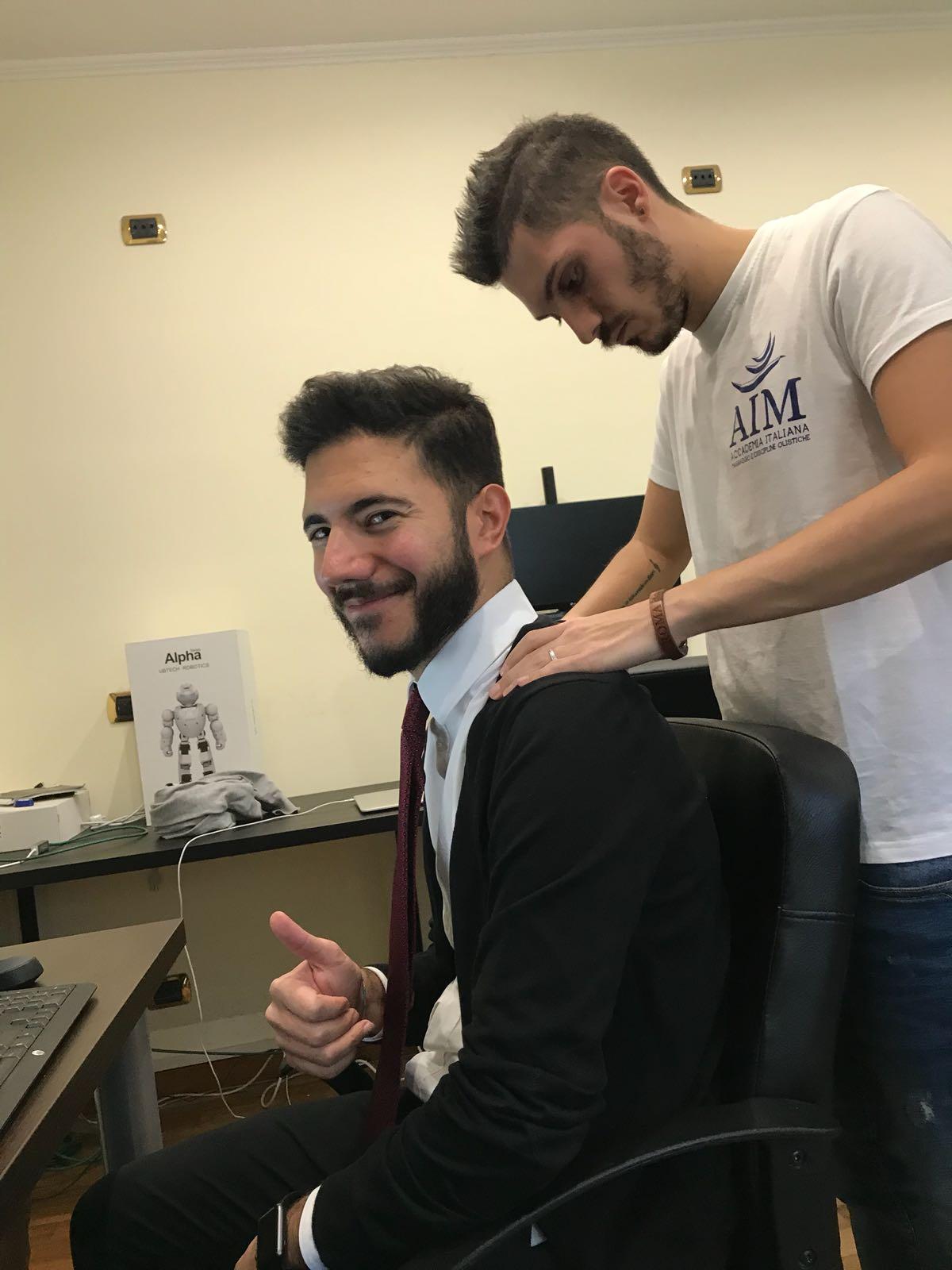 IMMAGINE Un massaggio GRAZIE!