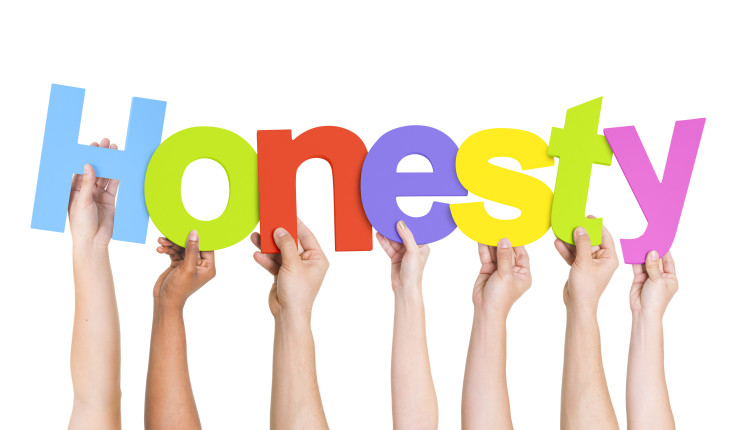 IMMAGINE Alla ricerca della felicità: Essere onesti è vivere bene